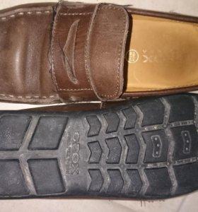 Туфли из натуральной кожи на мальчика Geox 34 разм