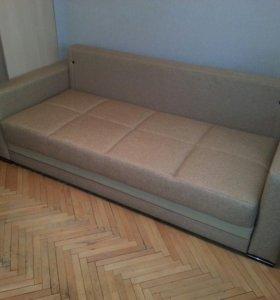 Переобивка диванов на дому.