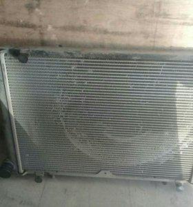 Радиатор охлаждения на газель бизнес 4216