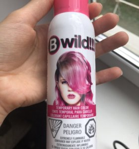 Спрей для волос розовый
