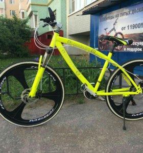 Новые Велосипеды на литых дисках в наличии