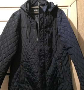 Новая стеганая мужская куртка