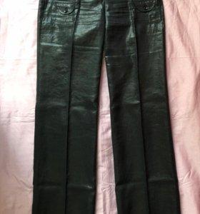 SHENDEL льняные черные брюки с напылением. Новые