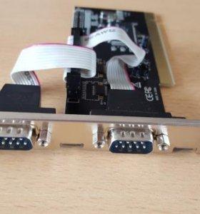 PCI контроллер на COM и LPT порты