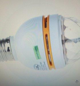 Диско-лампа со светомузыкой