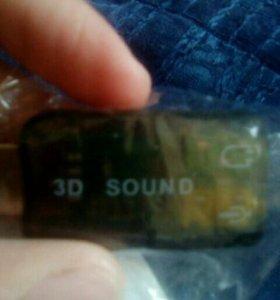 Звуковая карта Адаптер USB 2.0