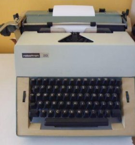 печатная машинка robotron 20