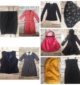 Пакет женских вещей на 42-44-46 размер