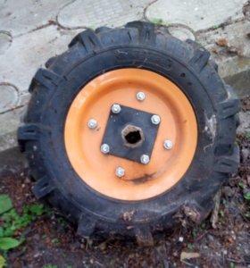 Комплект колес от мотоблока