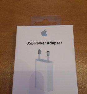 Зарядка iPhone только блок без кабеля оригинал new