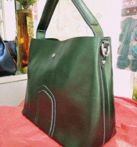 Новая сумка из натуральной кожи!!!