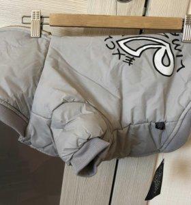 Курточка новая утеплённая XL