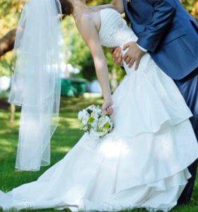 Свадебное платье СРОЧНО В СВЯЗИ С ПЕРЕЕЗДОМ