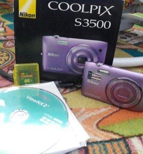 Фотоаппарат COOLPIX S3500