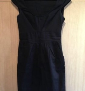 Платье чёрное Stradivarius