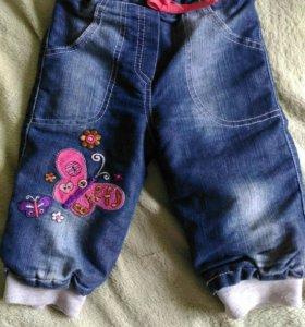 Детские утепленные джинцы