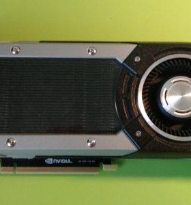 Бу видеокарта nvidia GeForce GTX980 4gb