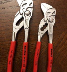 Knipex клещи переставные-гаечный ключ