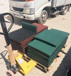 Резиновые покрытия (плитка)