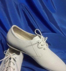Туфли мужские, новые, натуральная кожа