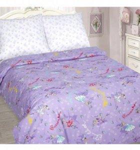 Комплект постельного белья 1,5сп для девочки