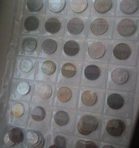 52 иностранные монеты