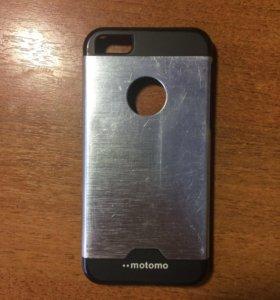 """Чехол для iPhone 5,5s,SE """"••motomo"""""""