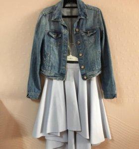 Асимметричная юбка Mohito, р. 42-44