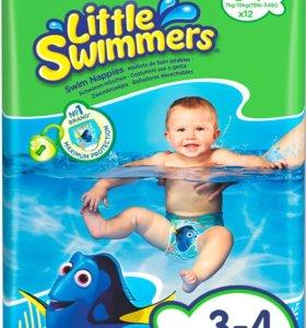 Подгузники-трусики для плавания