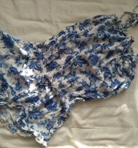 Домашний комбинезон пижама