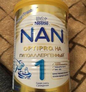 Смесь NAN Optipro 1 гипоаллергенная