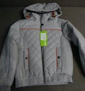 Куртка на мальчика(новая) рост 128