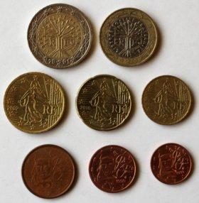 Наборы Евро разных стран