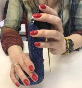 Укрепление ногтей гелем 💅🏼