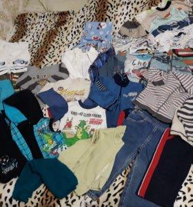 Вещи пакетом на мальчика 1,5- 3 года