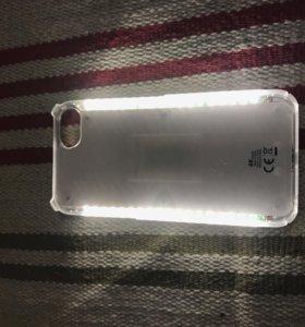Чехол для айфона светящиеся