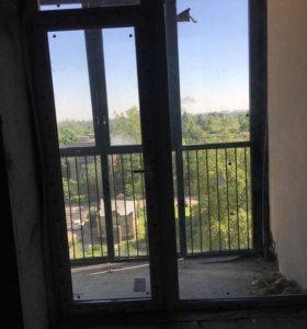 Стеклопакет меж балконный