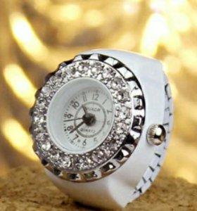 Кольцо -часы