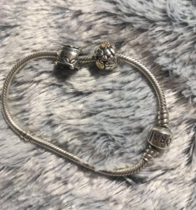 Оригинальный браслет Pandora с шармами