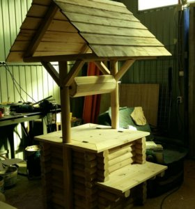 Декоративный колодец, для дизайна дачи,сада,дома.
