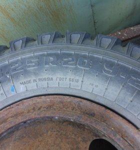 Грузовые колёса 8.25 r20 У-2