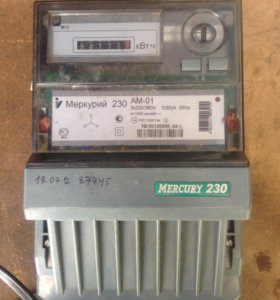 Счётчик электроэнергии Меркурий 230