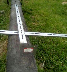 Штанга для стенового хомута L1000
