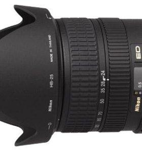 Nikon AF-S 24-120mm/3.5-5.6G VR