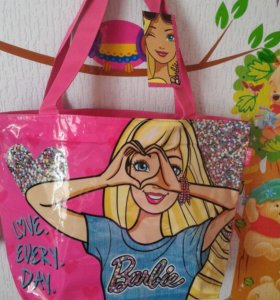 Пляжная сумка Барби