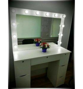 Гримерный стол,стол визажиста,макияжный стол