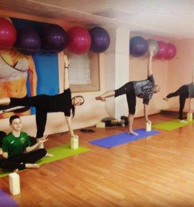 Йога групповые занятия