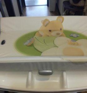 Детская ванная Cam с пеленальным столиком