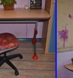Стол регулируемый по высоте, для Вашего ребенка
