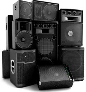 Колонки, DJ свадьба, аренда звукового оборудования